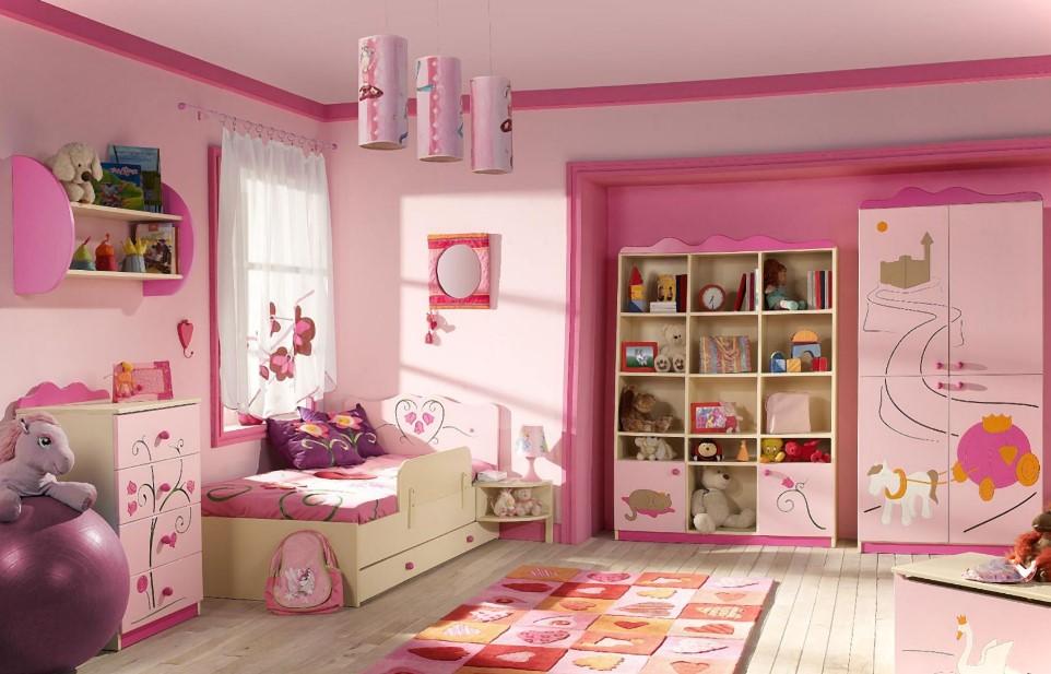 girls room decor lighting