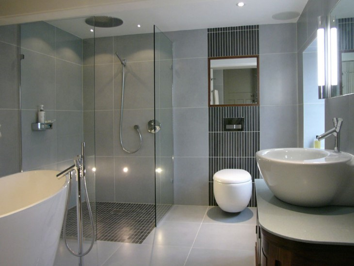 blue gray bathroom ideas gray bathroom ideas for relaxing days and interior design 16454