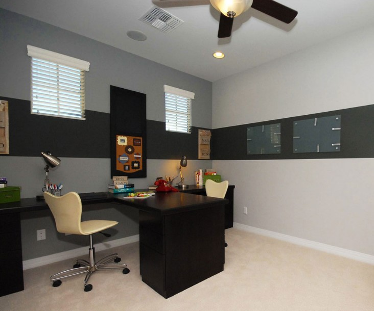small space for two person desk ideas