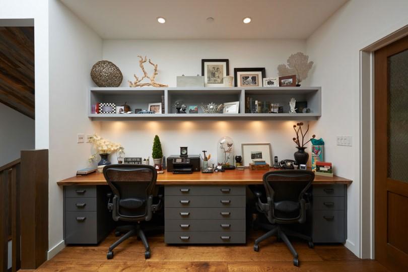 two person desk design ideas