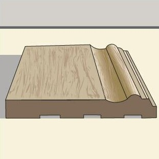 Baseboard Trim Third Styles