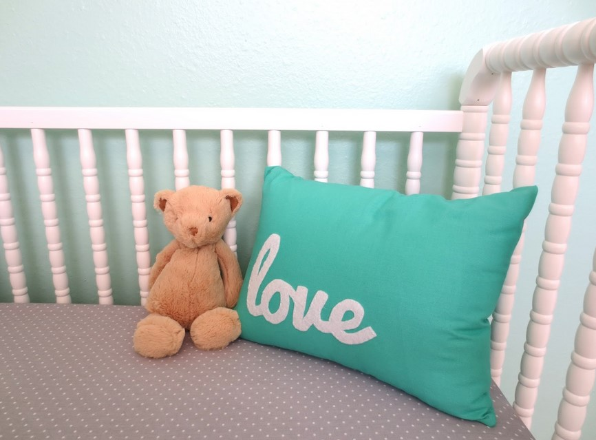 Coral And Turquoise Baby Room Decorations