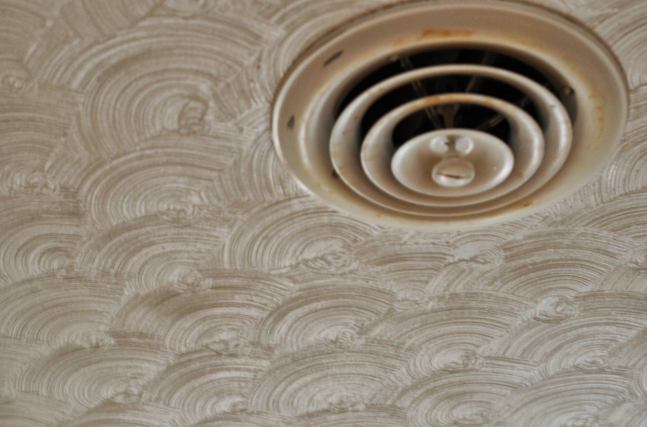 Fish Scale Drywall Ceiling Texture