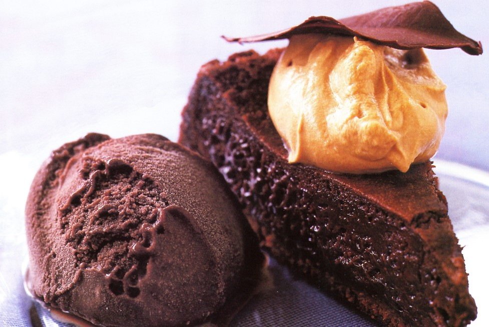 Flavoured Delicious chocolate Mousse