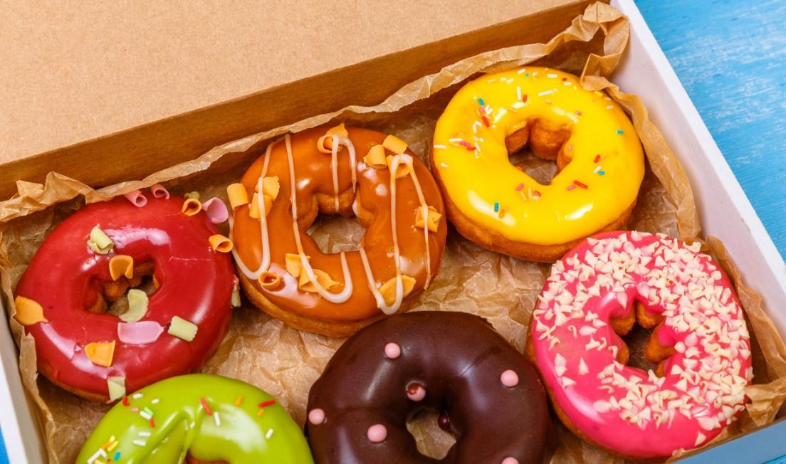 Gender Reveal Doughnuts