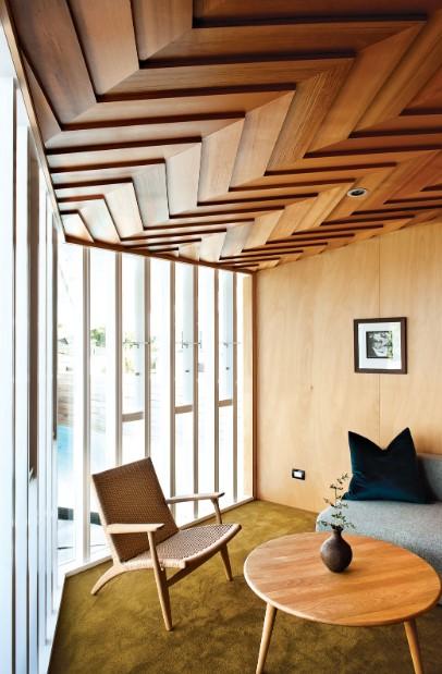 Herringbone Wooden Panels Texture