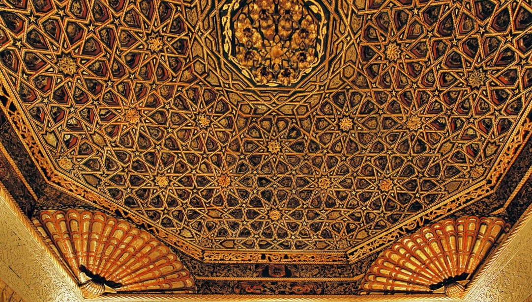 Ornament Ceiling Texture