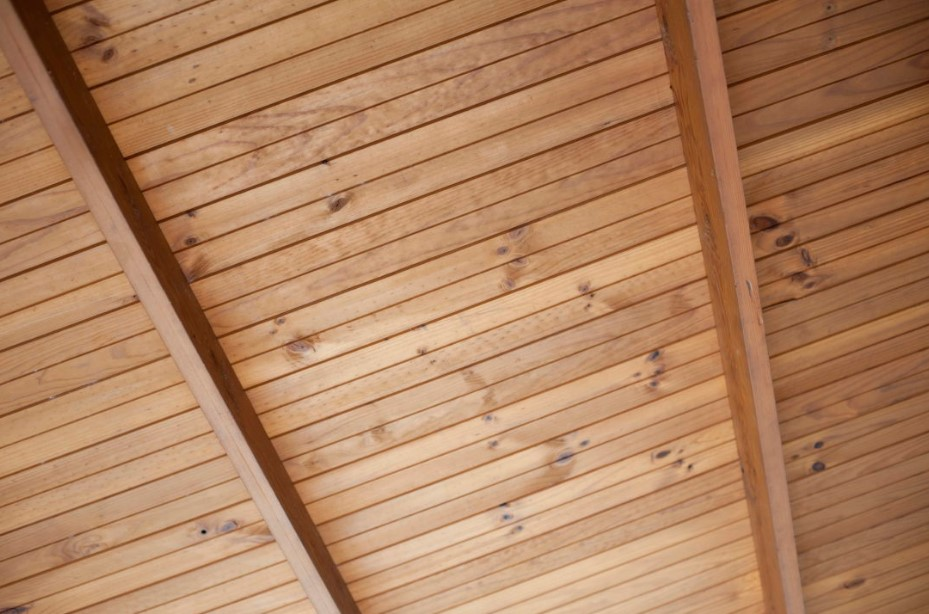 Wood Ceiling Panels Texture