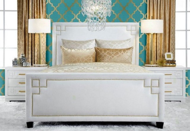 bed for a king and queen in the modern era