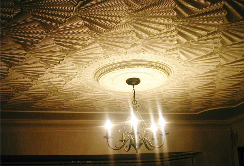 ceiling texture types