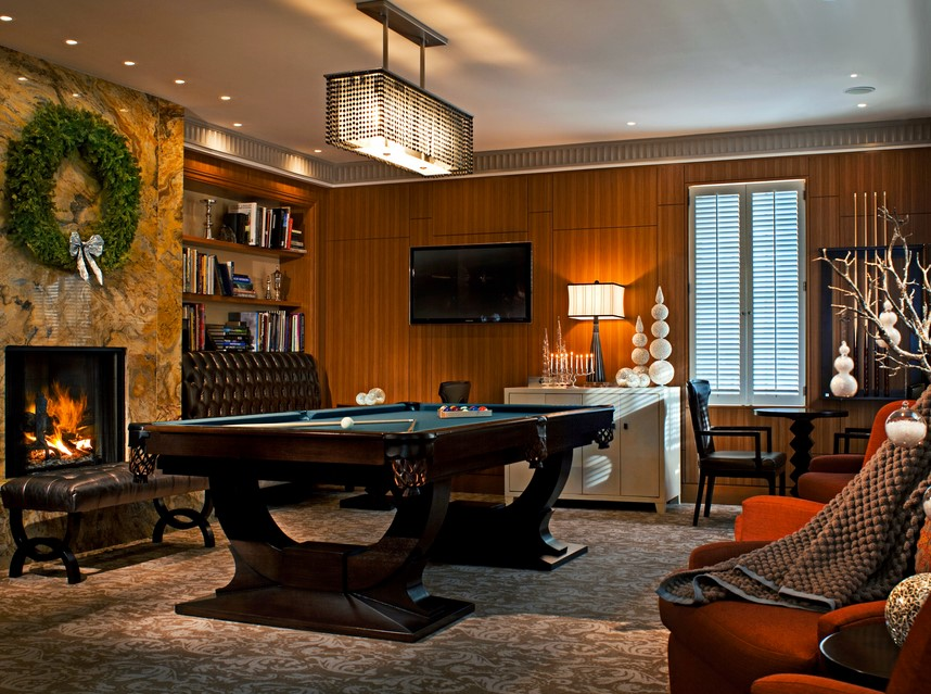 Elegant Game Room Ideas