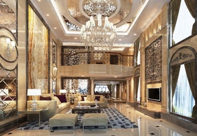 European interior design for hall