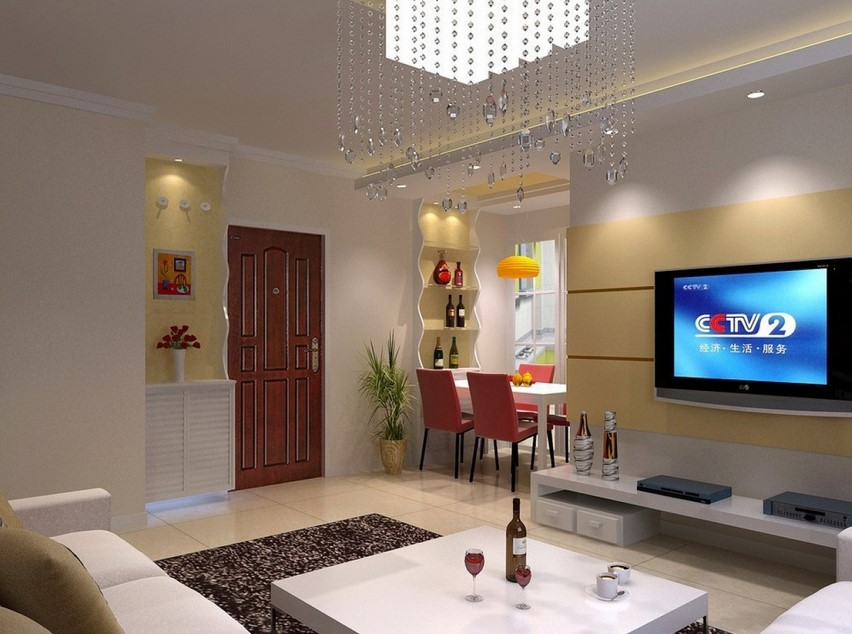 Exquisite hall interior design
