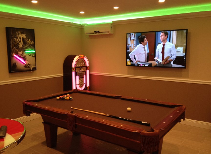 Game Room Lighting Ideas