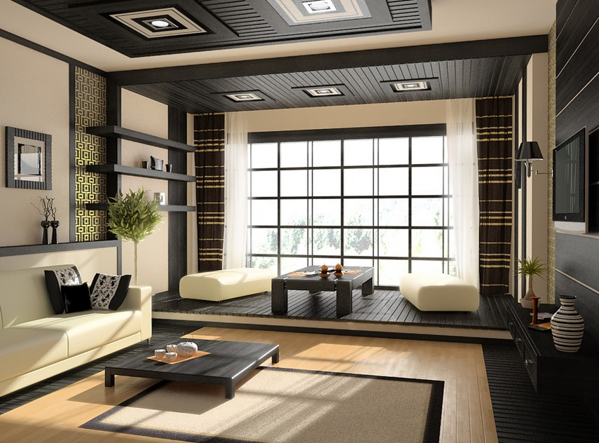 Japanese hall interior design