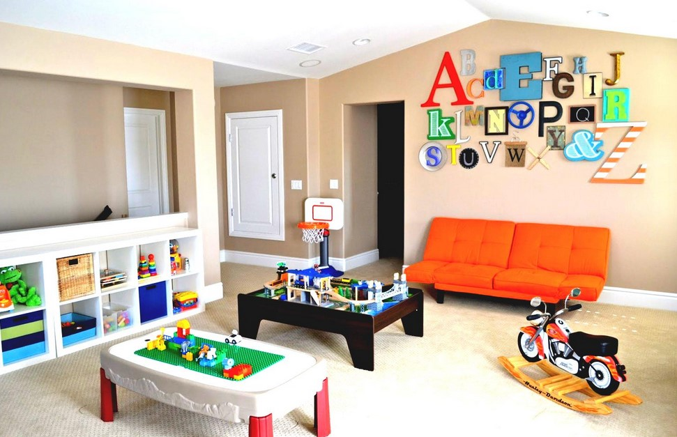 Kids Game Room Ideas