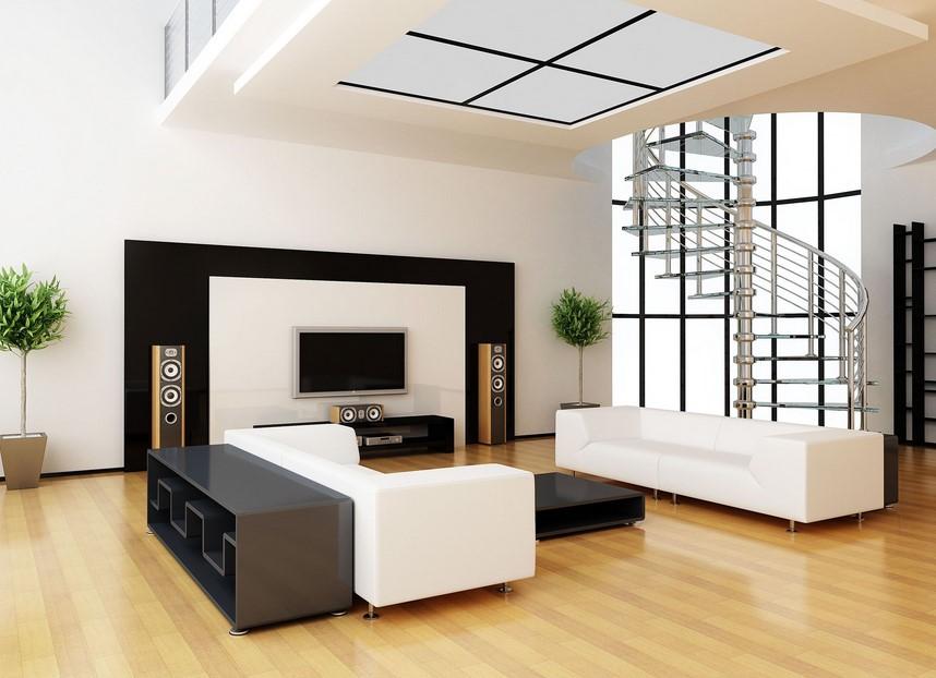 Modern hall interior design