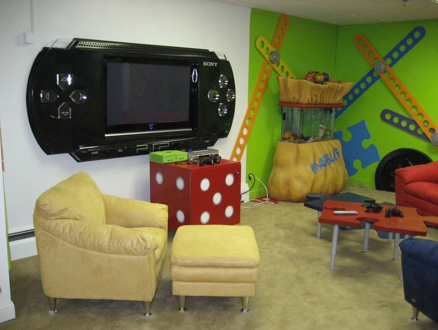 PSP Game Room Ideas