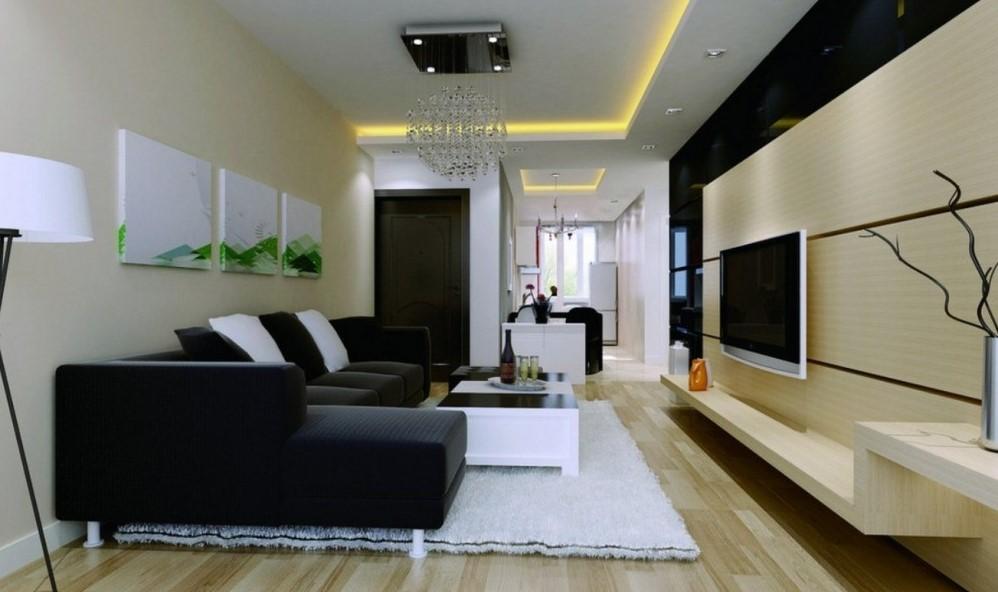Simple hall interior design