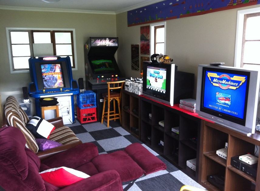 Small Game Room Ideas