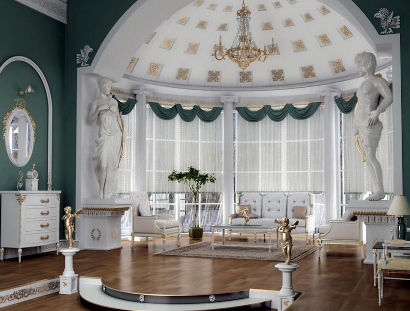 Victorian interior design for hall