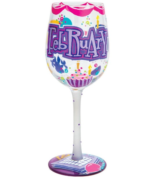 February wine glass