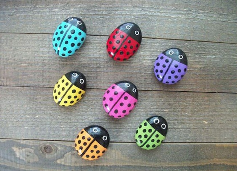 Whimsical Ladybugs