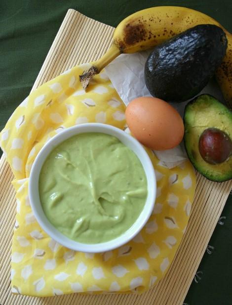 Avocado and Banana Mix