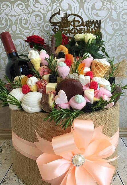 Candy Bouquet for Person with Sweet Tooth