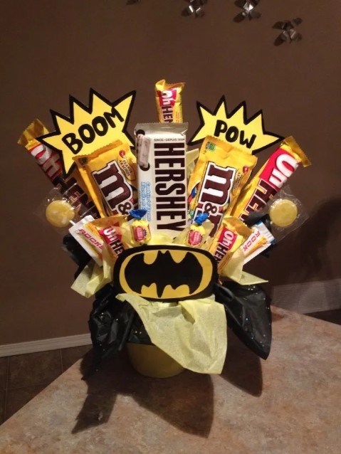 Candy Bouquet with Character Theme