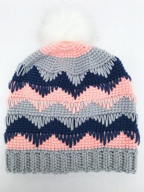 Chevron CrochetBaby Hat Patterns