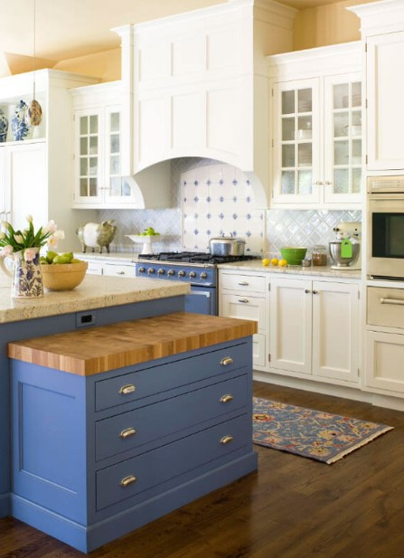 Classic Traditional Blue Countertops