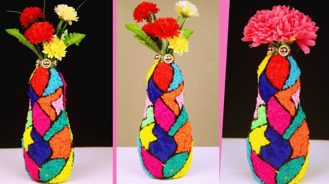 Colorful Plastic Vase