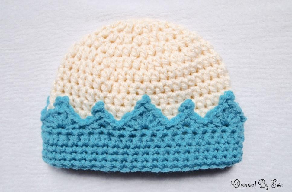 Crown Crochet for Newborn
