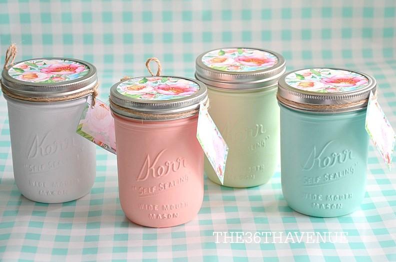 Cute Pastel Jars
