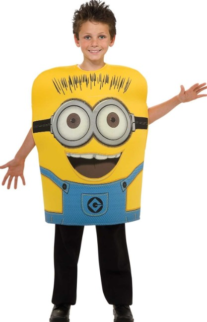 Cutout Minion Attire
