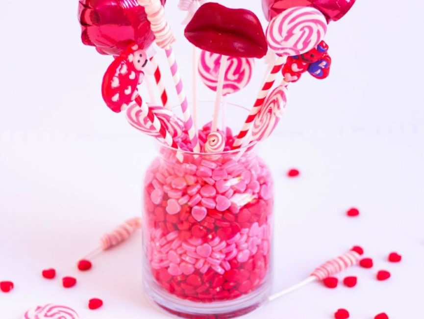 DIY Candy Bouquet