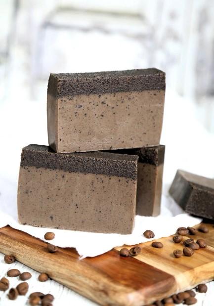 DIY Coffee Soaps