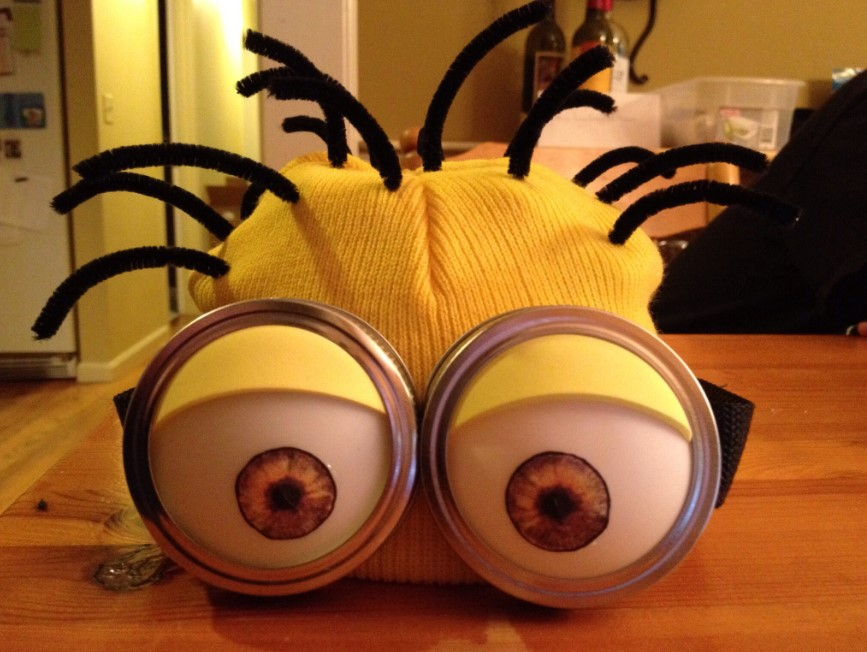 DIY Minion Hats