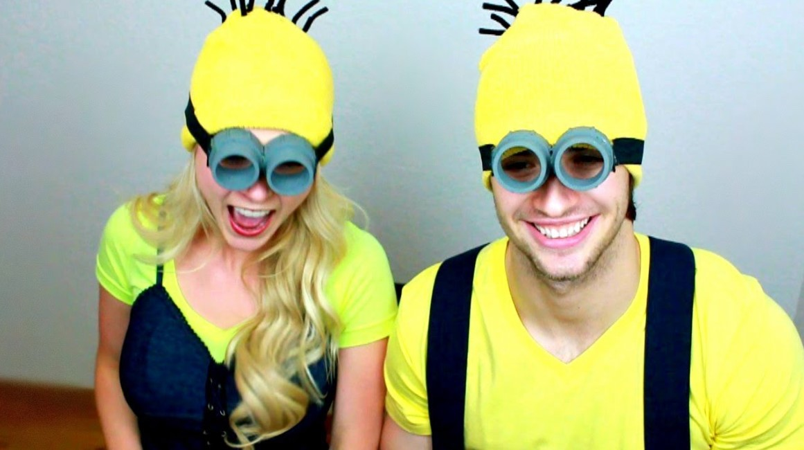 DIY Minions Goggles and Beanies