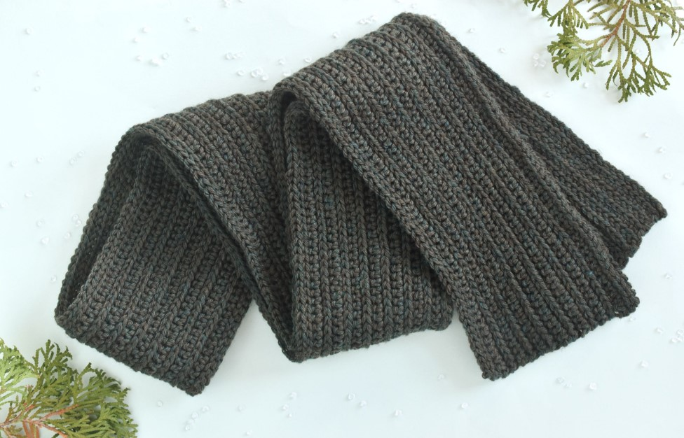 DIY Warm Scarf for Winter
