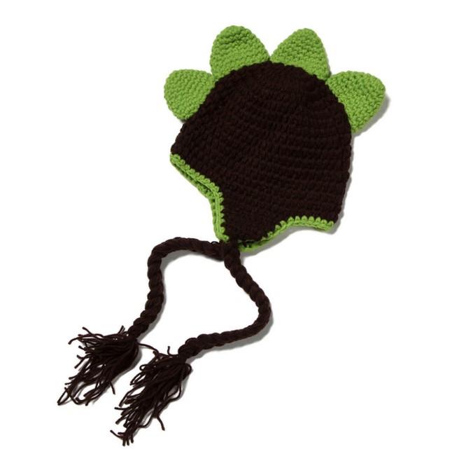 Dinosaur Baby Hat