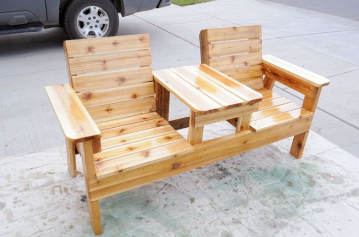 Double-chair furniture