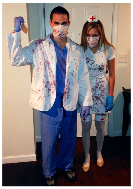 Dr. and Nurse Zombie Costume