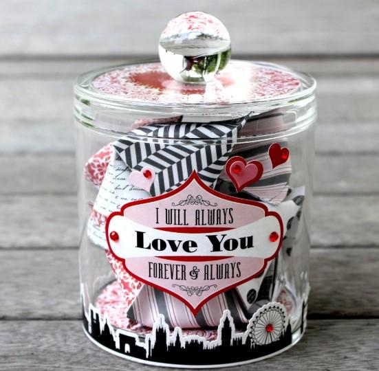 Fancy Date Night Jars
