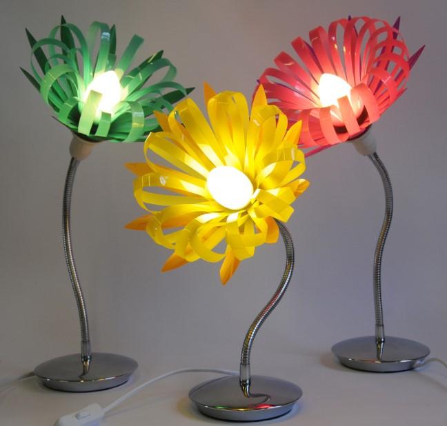 Flowery Desk Lamp