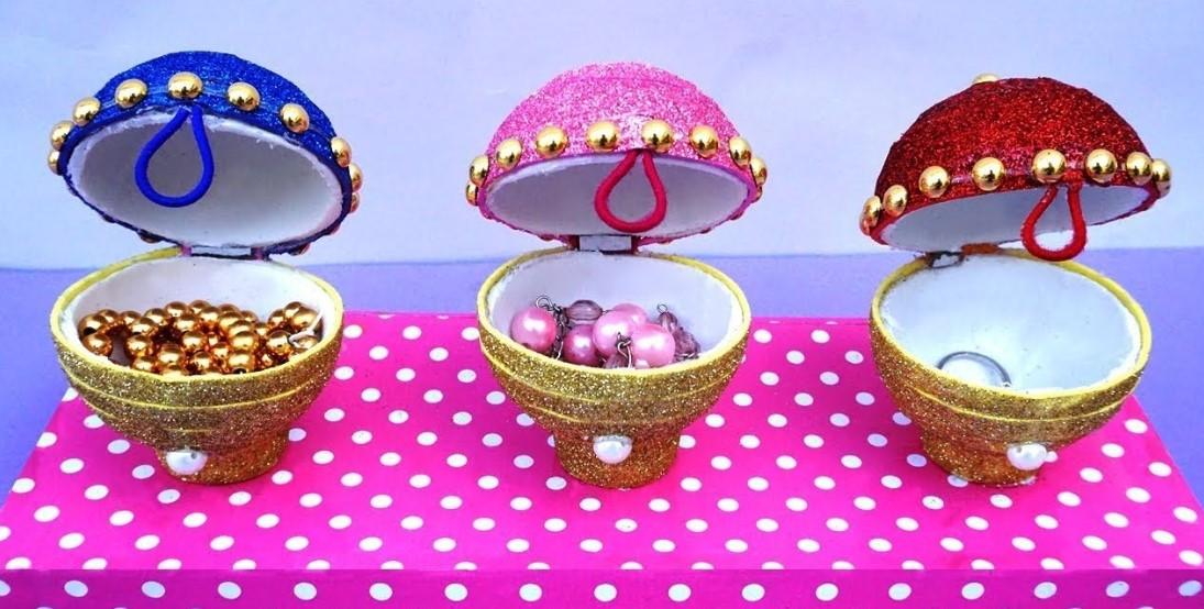 Glittery Jewelry Box