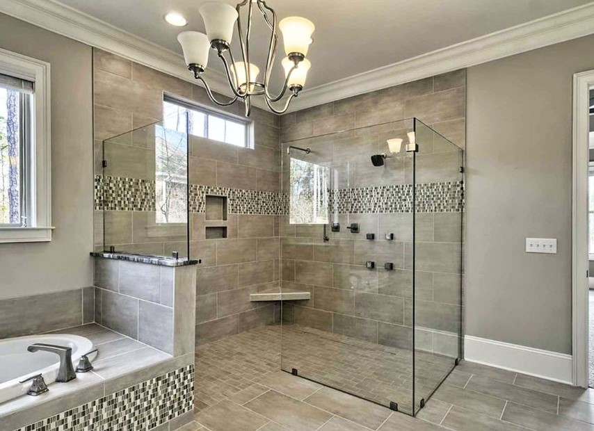 Great Doorless Shower References with Various Designs