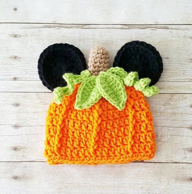 Halloween Themed Crochet Hat