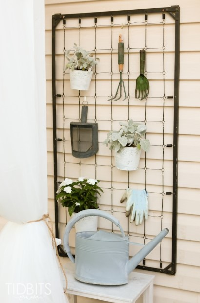 Hanger From Recycled Cribs